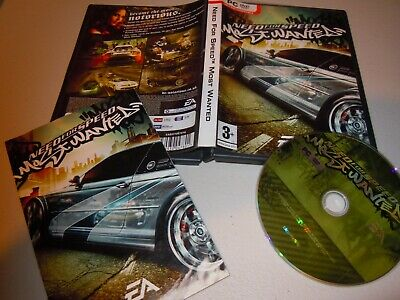 NEED FOR SPEED MOST WANTED Pc DVD Rom nm Original NFS - FAST