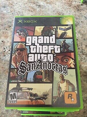 Grand Theft Auto San Andreas Gta Microsoft Xbox Used