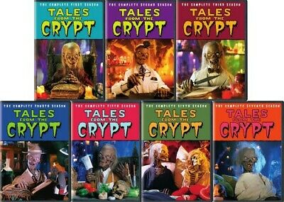 TALES FROM THE CRYPT THE COMPLETE TV SERIES New DVD Seasons 1 2 3 4 5 6 7