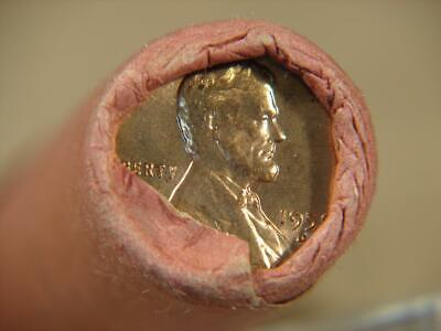 1959-D Lincoln Memorial Cent Penny OBW Roll Of 50 Coins #6