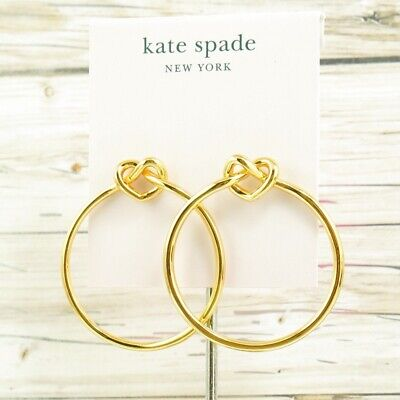 73ca051a1 KATE SPADE NEW York Loves Me Knot Stud Earrings Rose Gold - $25.00 ...