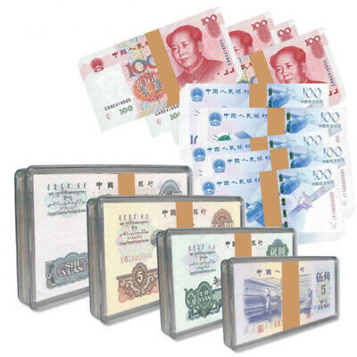 Acrylic Currency Notes Holders Display Box Clear Case for Bundle Paper Money HOT