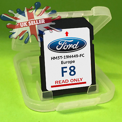 FORD F7 SYNC2 SD CARD NAVIGATION SAT NAV LATEST MAP 2019 Europe and UK