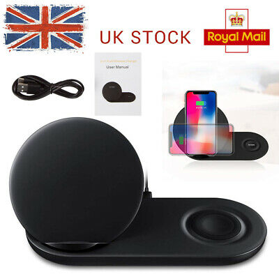 For Watch f&Samsung Galaxy Note 9 Fast Wireless Charging Charger Pad Dock Holder