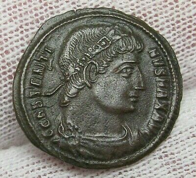 ROMAN; Constantine the Great 306-337 AD AE3. Choice XF