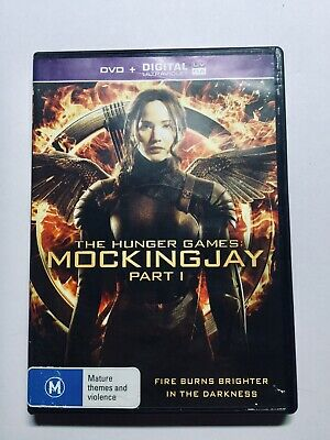 The Hunger Games - Mockingjay : Part 1 (DVD) PAL