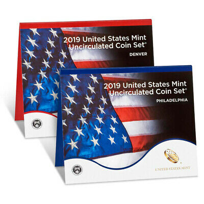 2019 United States Mint Uncirculated Coin Set (19RJ)