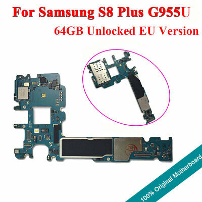 REPLACEMENT MOTHERBOARD LOGIC Board IMEI for Samsung Galaxy S8 plus