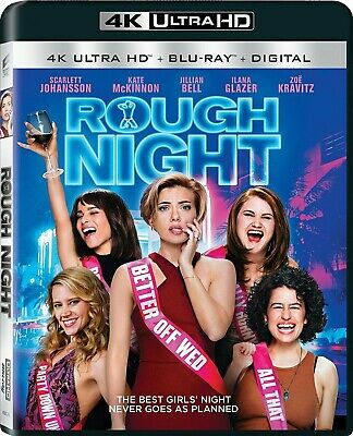 Rough Night (4K Ultra HD Blu-ray Disc ONLY) - Like New - Discs Never Been Played