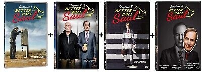 Dvd Better Call Saul: Stagione 1-2-3-4 (12 DVD) ...NUOVO