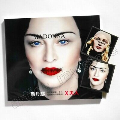 Madonna Madame X Taiwan CD BOX 2 Sticker 2019 NEW