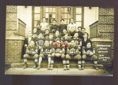 Real Photo Pleasantville New Jersey Football Team Players Nj Postcard Copy