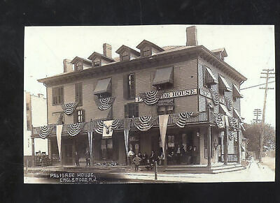 Real Photo Englewood New Jersey Palisade House Hotel Nj Postcard Copy