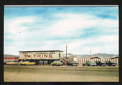 Barstow California Route 66 Roadside Attraction Old Cars Postcard Copy