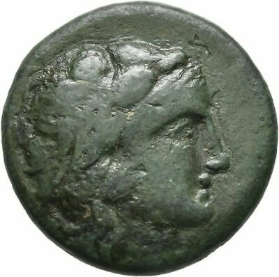 Ancient Greece 3 CENT.BC THRACE LYSIMACHEIA HERAKLES NIKE AE