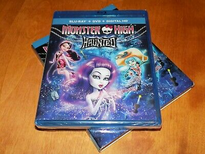 MONSTER HIGH HAUNTED Blu-Ray Disc + DVD 2-DISC SET SEALED NEW