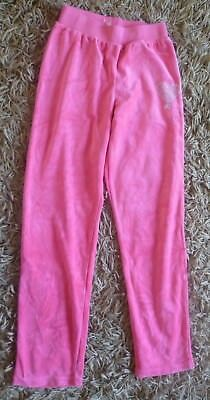 Free Style Pink Velour Casual Jogging Trouser Loungers Age 10