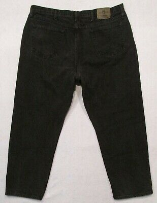 8cff0a2e MENS BLACK WRANGLER Relaxed Fit Premium 97601Cb Jeans 42 X 30 ...