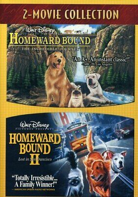 Homeward Bound I / II - The Incredible Journey - Lost In Michael J Fox DVD G AA