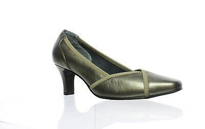 Rose Petals Womens Rayna Pewter Pumps Size 8.5