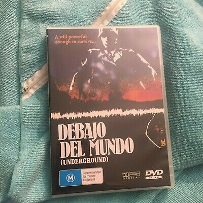 Debajo Del Mundo Dvd ( Underground) Dvd. All Regions.