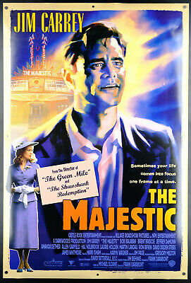 Original The Majestic Jim Carrey 1sh DS Rolled Movie Poster