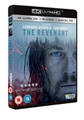 The Revenant (Leonardo DiCaprio) New 4K Ultra HD Region B Blu-ray + Digital HD