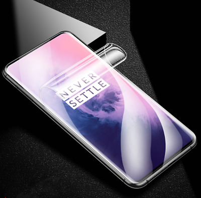 Slim Soft 9D Hydrogel Screen Film Protector Case Cover For OnePlus 7 7 Pro New