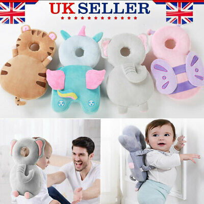 Baby Infant Walking Head Back Protection Protector Safety Pad Harness Pillow Toy