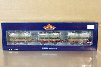 BACHMANN 37-777 BR BROWN MOGO GOODS VAN WAGON W105666 MINT BOXED py