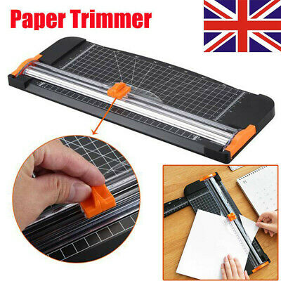 Heavy Duty A4 Photo Paper Guillotine Cutter Trimmer Ruler Machine Home Office UK