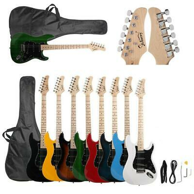 Glarry Brand 8 Colors School Maple Neck Electric Guitar w/Bag & Accessories
