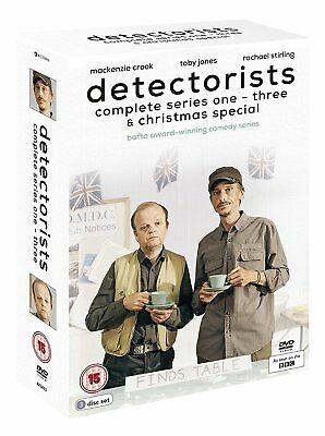 Detectorists – Series 1-3 & Christmas Special DVD British BBC Comedy