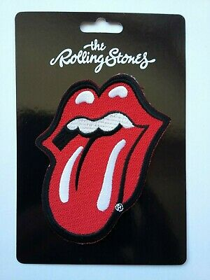 The Rolling Stones - Tongue Iron On Patch