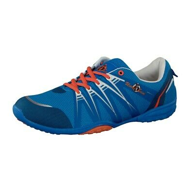 Uncle Sam Men's Barefoot Shoes Sneaker Running Shoes in Blue/Orange