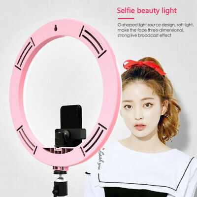 "12"" 180pc LED Photography Ring Light Dimmable Lighting Photo Video Without stand"