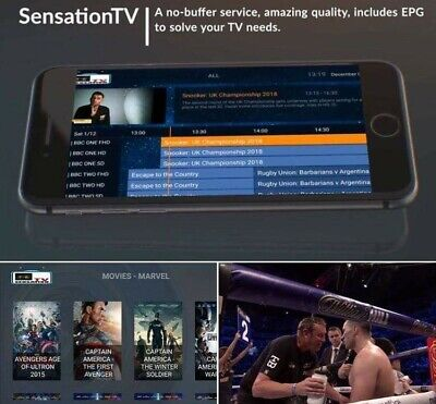 1 MONTH IPTV Subscription Full HD (Firestick,Smart TV,Enigma