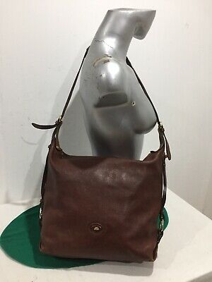 3f3be749a0 Borsa donna a spalla THE BRIDGE bag sacca MARRONE pelle ORIGINALE in BUONO  STATO