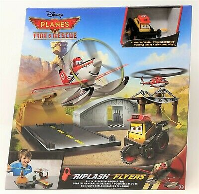 Disney Planes Fire and Rescue Riplash Flyers Rescue Headquarters Blackout Toy