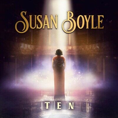Susan Boyle Ten CD Brand New 2019