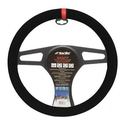 Coprivolante Auto Universale Carrera Look Red Diametro 37-39cm Simoni Racing