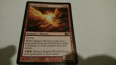 Red m10 Magic 2010 Mtg Magic Rare 1x x1 1 FOIL Magma Phoenix