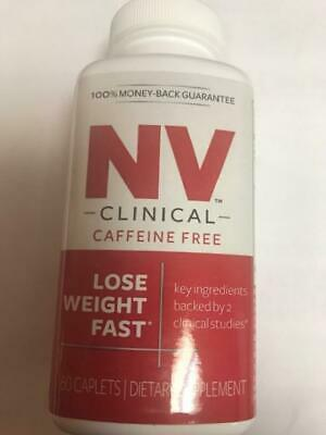 NV CLINICAL RED Hollywood Diet Pill - 60 Caplets - Discontinued Product**