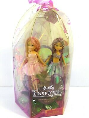 Nib Barbie Doll 2004 Fairytopia Petal Pixies Fairies