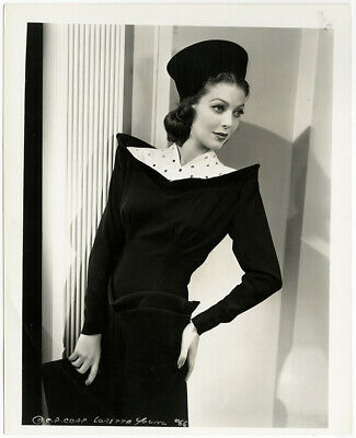 Loretta Young The Doctor Takes a Wife 1940 Vintage Moderne Fashions Photograph