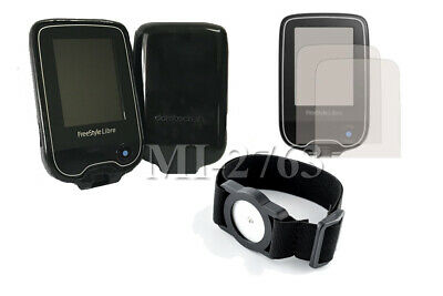 """Abbott Freestyle Libre - Accessory Bundle """"Case, Screen Protector and Armband"""""""