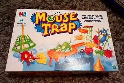 Mouse Trap Board Game By Ideal 1999 Complete Lovely Condition Crazy Contraption