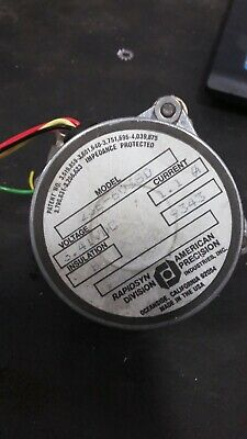 RAPID SYN Stepper Motor Model 23E-6038D USED