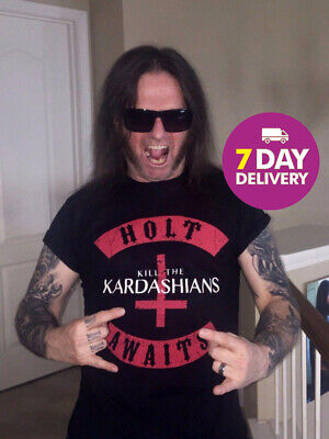 Kill The Kardashians Shirt Holt Awaits Slayer Gary Holt Exodus T-Shirt All Size