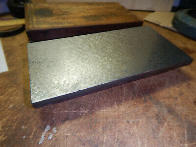 Vintage Small Machinist Surface Plate Scraped And Painted